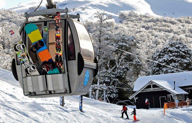 Más de 68.000 esquiadores visitaron el centro de esquí neuquino. (Foto: Cerro Bayo Sk