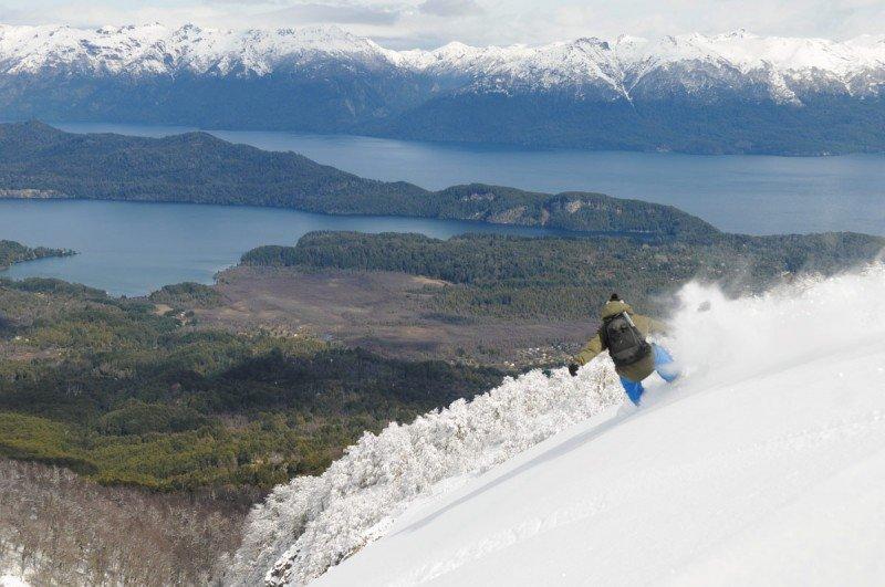 Cerro Bayo es uno de los tres centros de esquí de la provincia de Neuquén.