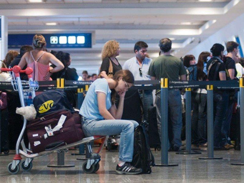 La jornada de lucha afectará vuelos de cabotaje e internacionales.