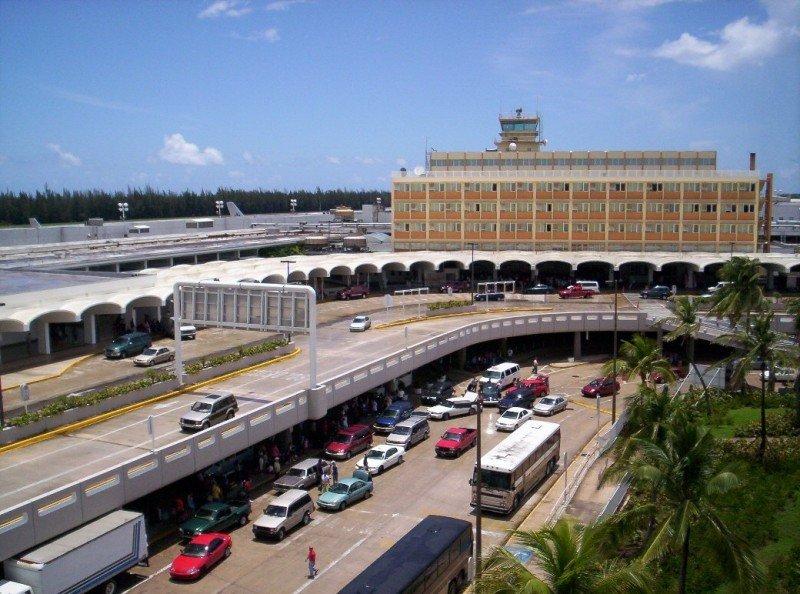 Aeropuerto Internacional de San Juan de Puerto Rico.