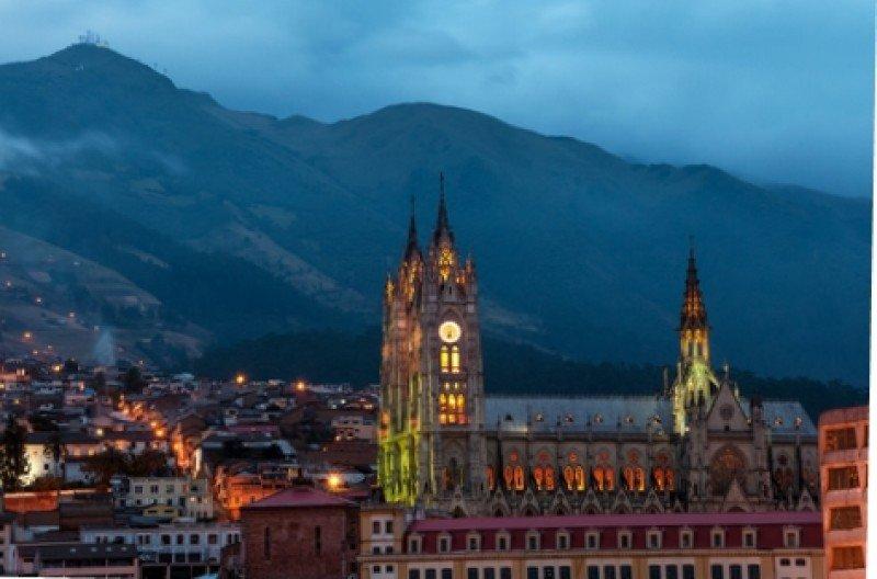El centro histórico de la capital ecuatoriana es Patrimonio de la Humanidad. #shu#