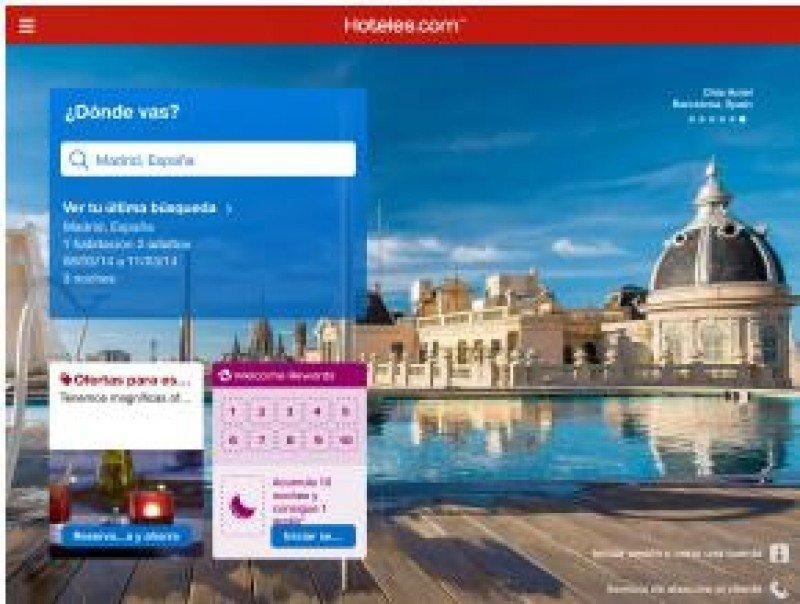 Madrid es, junto con Barcelona y Benidorm, los destinos españoles más demandados por la app de Hoteles.com.