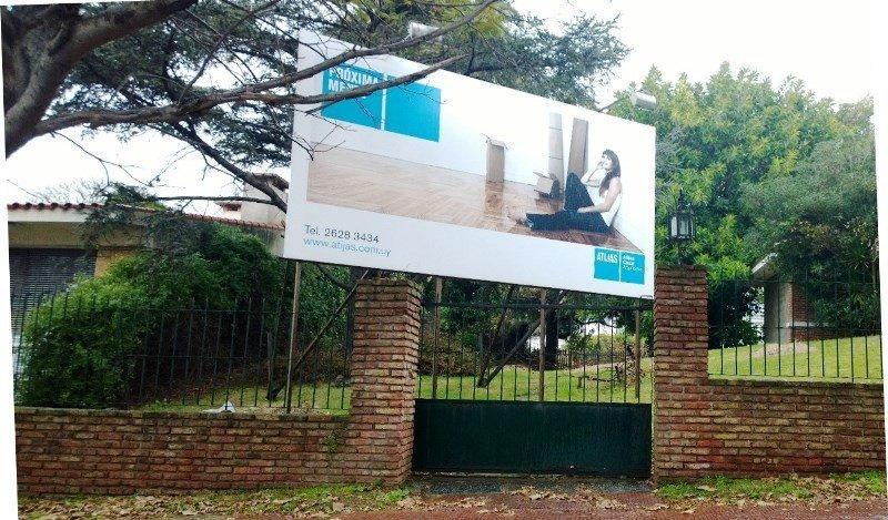 Predio en el que se proyecta el nuevo hotel de capitales chilenos en Montevideo.