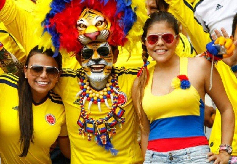 Colombia sigue adelante y sus fanáticos coparán Rio de Janeiro.