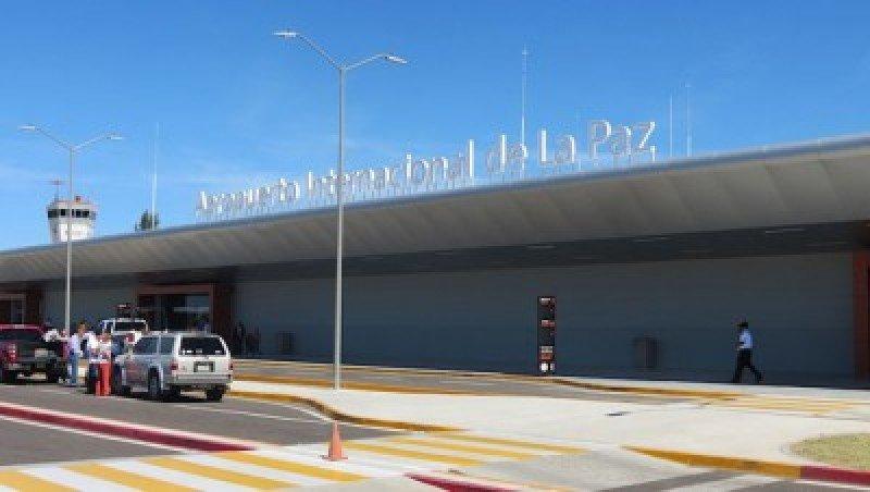 Aeropuerto Internacional de La Paz en Bolivia.