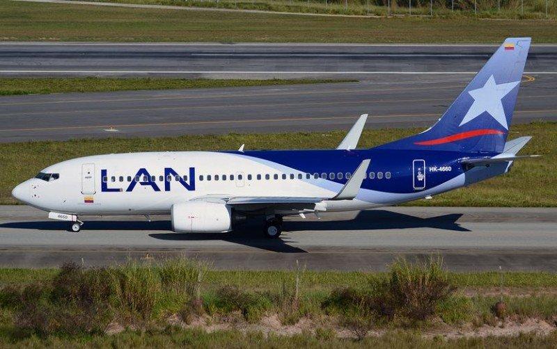 LAN Colombia aumenta sus vuelos de Bogotá a Santiago de Chile y Lima