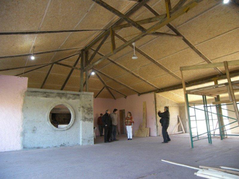 Nuevo salón de eventos en el complejo Termas de Almirón.