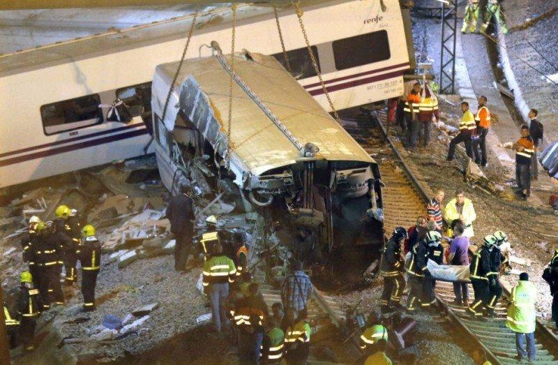 Víctimas del accidente de tren en Santiago denunciarán al Gobierno español
