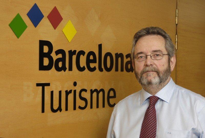 Pere Duran ha sido director de Turisme de Barcelona desde 2000 hasta 2014.
