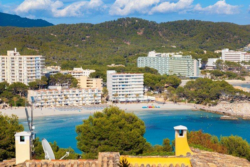 Calviá en uno de los munipios turísticos con mayor trayectoria de Mallorca. #shu#.