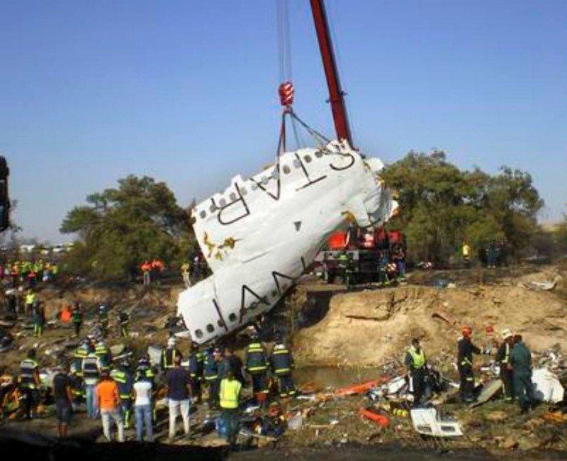 Accidente de Spanair: el juicio por las indemnizaciones fijado seis años y medio después