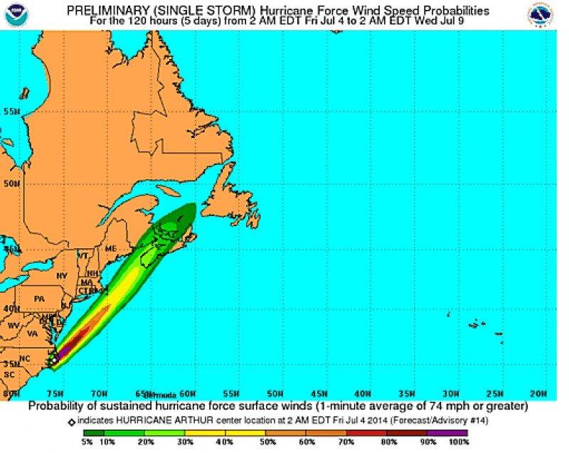 Gráfico: National Hurricane Center. CLICK PARA AMPLIAR IMAGEN.
