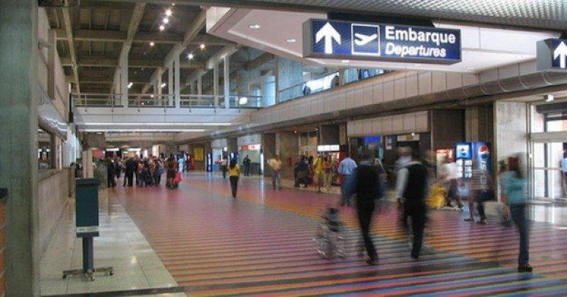 Aeropuerto de Caracas (Venezuela).