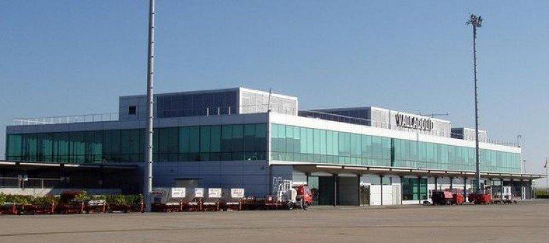 Aeropuerto de Villanubla (Valladolid).