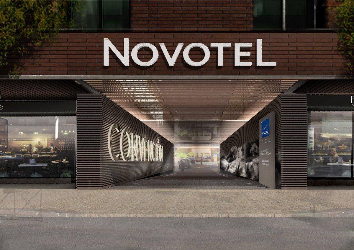 El futuro Hotel Novotel Convención, situado en la calle O´Donnel de Madrid.