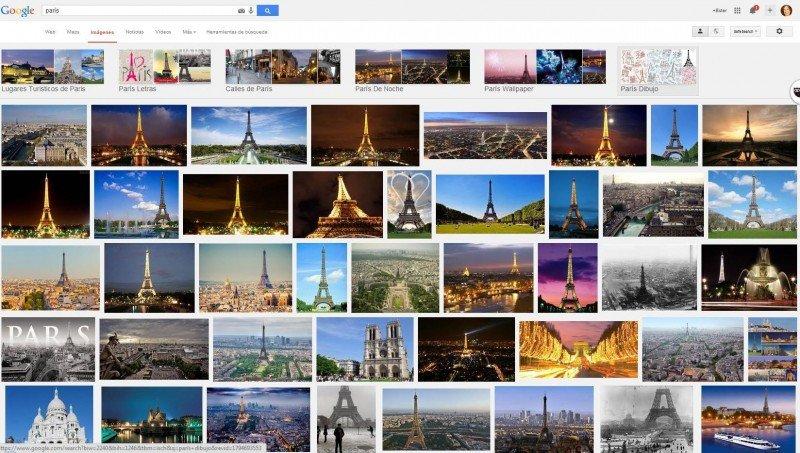 París en Google.