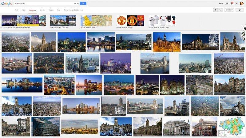 Manchester en Google.