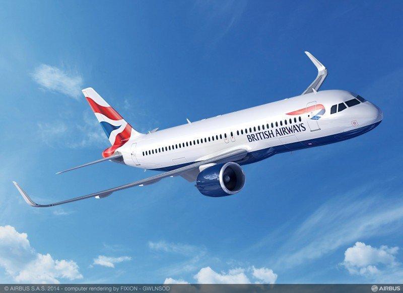 IAG compra aviones para la flota de corto radio de British Airways