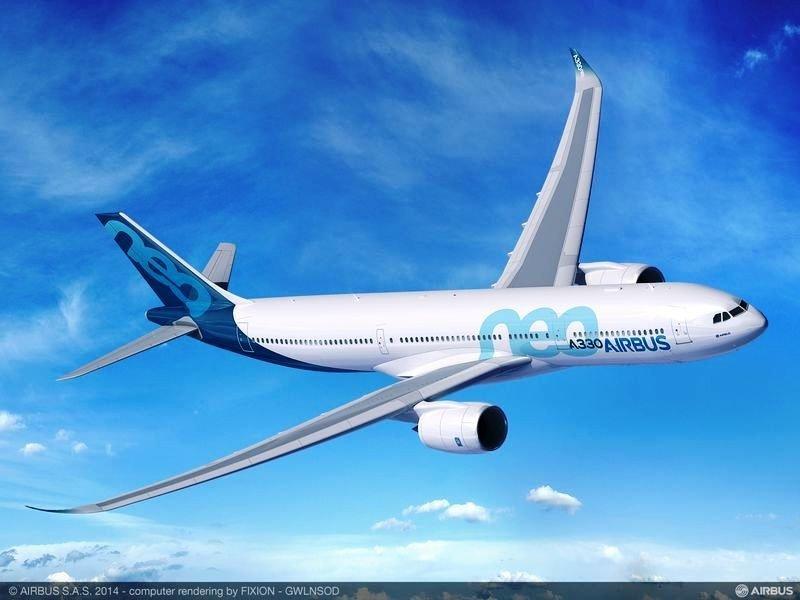 El Airbus 330neo ahorra un 14% de combustible por plaza