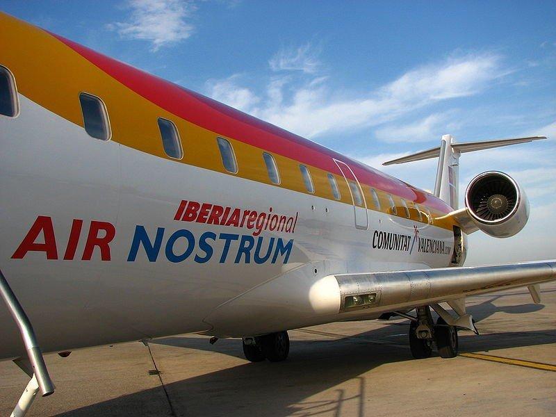 Air Nostrum vuelve a operar la ruta Almería-Sevilla