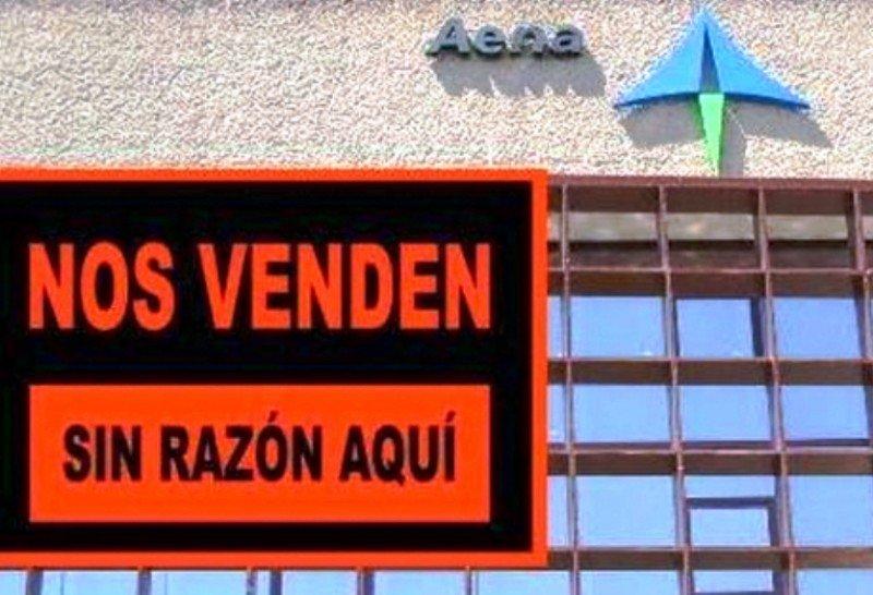 La privatización de Aena es un fraude, denuncian sus trabajadores
