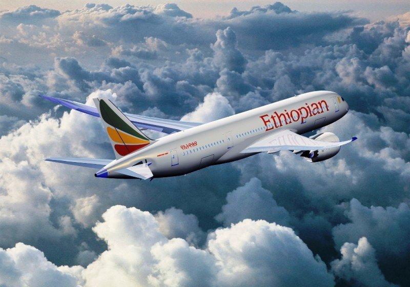 Ethiopian Airlines comienza a operar en Madrid-Barajas. En la imagen, un Boeing 787 Dreamliner de la compañía.