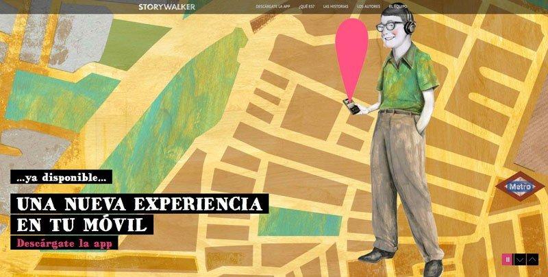 Storywalker, experiencias turísticas sonoras
