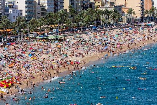 Cataluña concentró más del 25% de las llegadas. #shu#