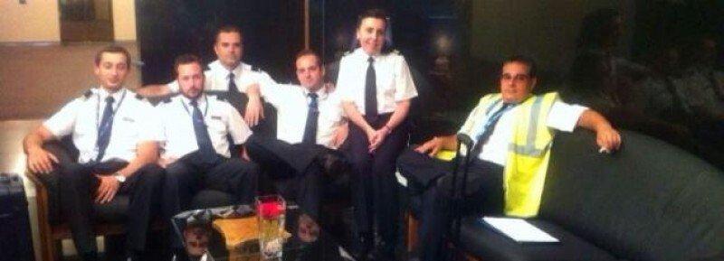Los miembros de la tripulación del MD83 desaparecido, todos españoles. Foto DIARIO DE MALLORCA