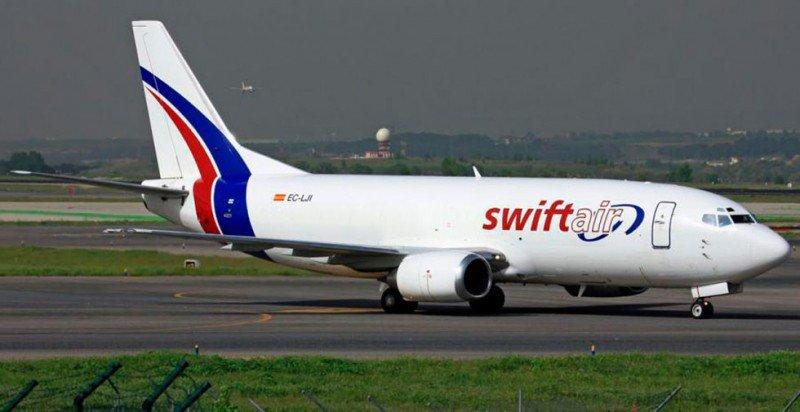 Swiftair afirma que la seguridad siempre ha sido su prioridad, como lo demuestra el hecho de la inexistencia de incidentes desde su fundación en 1986.
