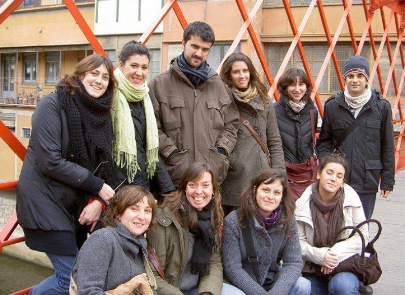 Imagen de archivo correspondiente a la promoción de becarios de Turismo de Cataluña del año 2010.