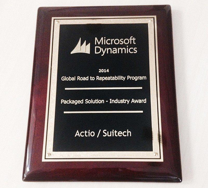 SUITECH premiada por Microsoft como Mejor Solución de Gestión Hotelera