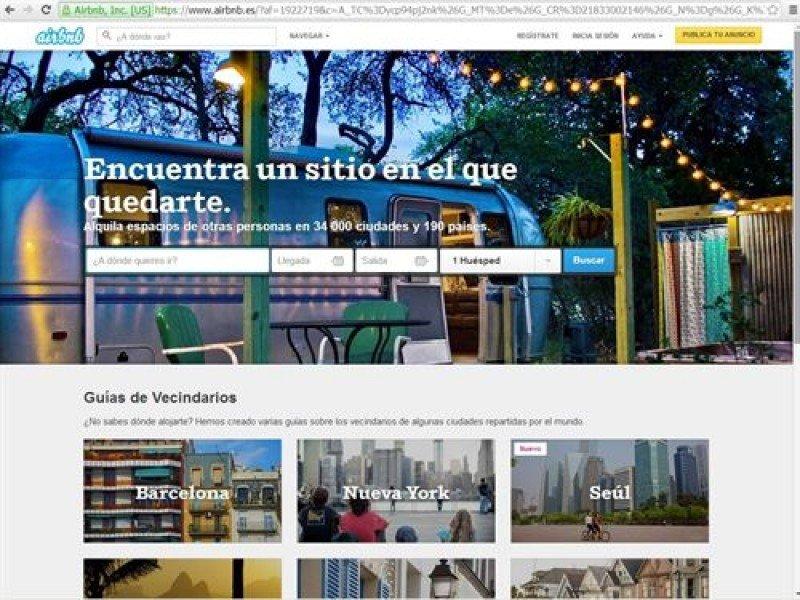 Airbnb está 'informando activamente' a todos los anfitriones para que cumplan con sus obligaciones.