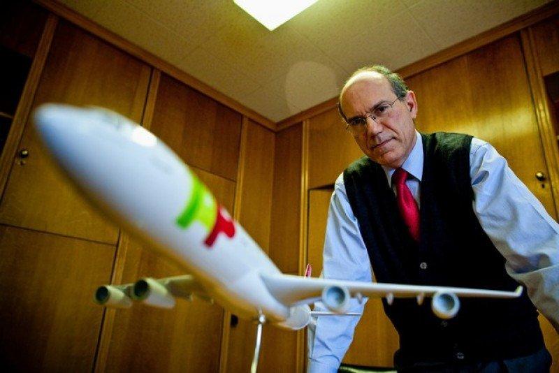 Fernando Pinto, presidente de TAP. Foto: Dinheiro Vivo