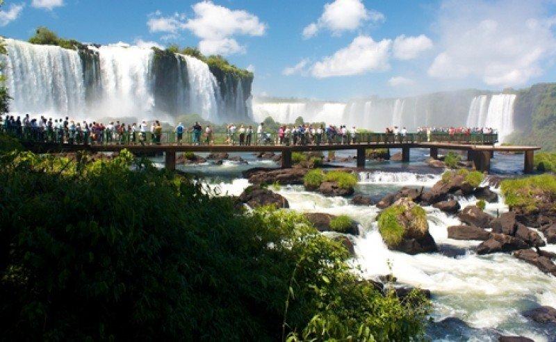 Cataratas del Iguazú, 'un destino clásico que no se operó' en estas vacaciones. #shu#