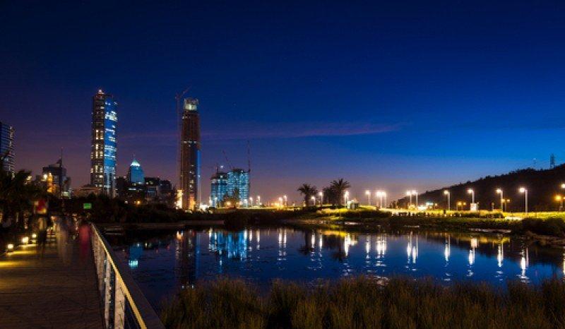 Santiago de Chile y su Parque Centenario. #shu#