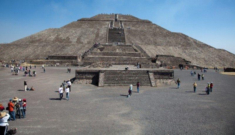 Teotihuacán, una de las principales atracciones de México. #shu#