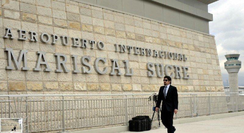 El 42% de los extranjeros ingresa al país por el Aeropuerto Mariscal Sucre de Quito.