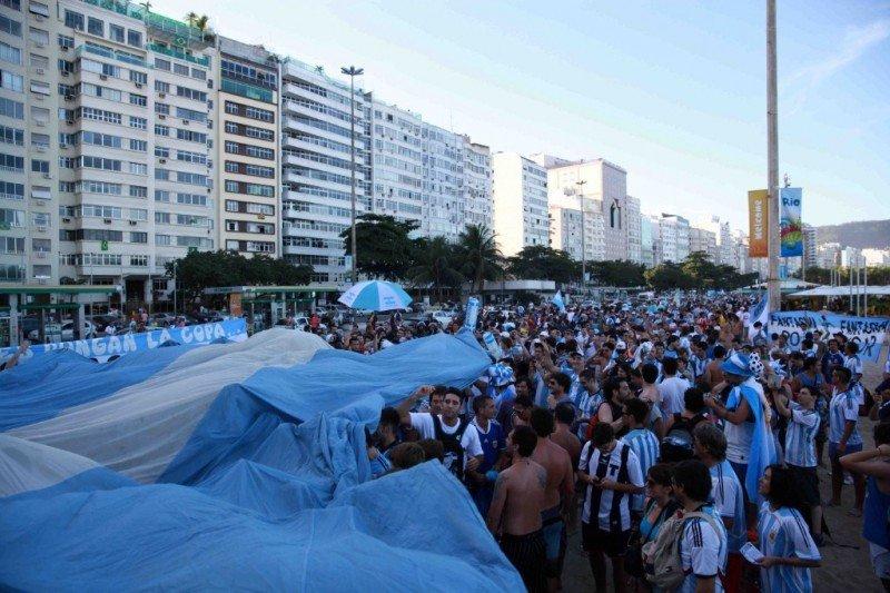 Río recibirá a más de 100.000 hinchas argentinos.