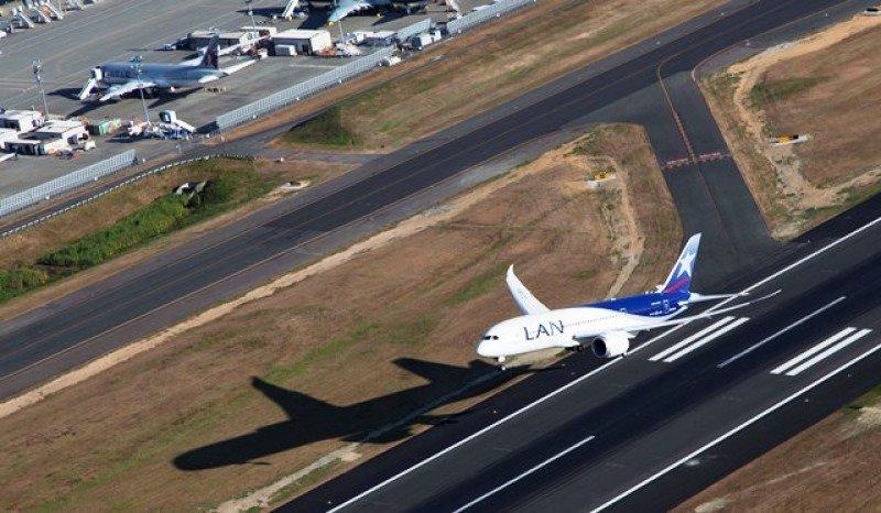 La aerolínea encargó 32 B787 al fabricante estadounidense.
