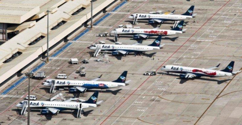 Base de operaciones de Azul en el aeropuerto de Campinas.