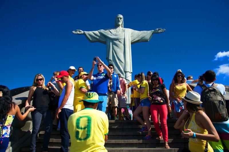 471.000 extranjeros visitaron Rio de Janeiro durante el Mundial. #shu#