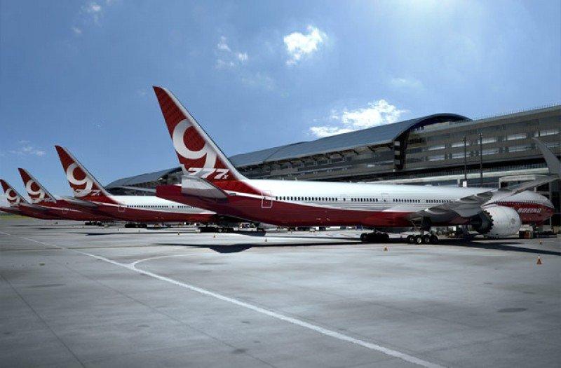 Boeing tiene una cartera de pedidos y compromisos de más de 300 aviones 777X por parte de seis clientes.