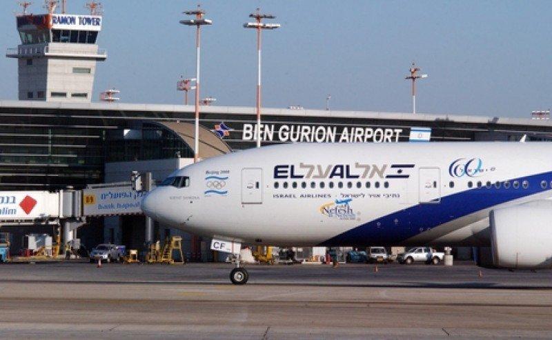 Aeropuerto Ben Gurion de Tel Aviv. #shu#