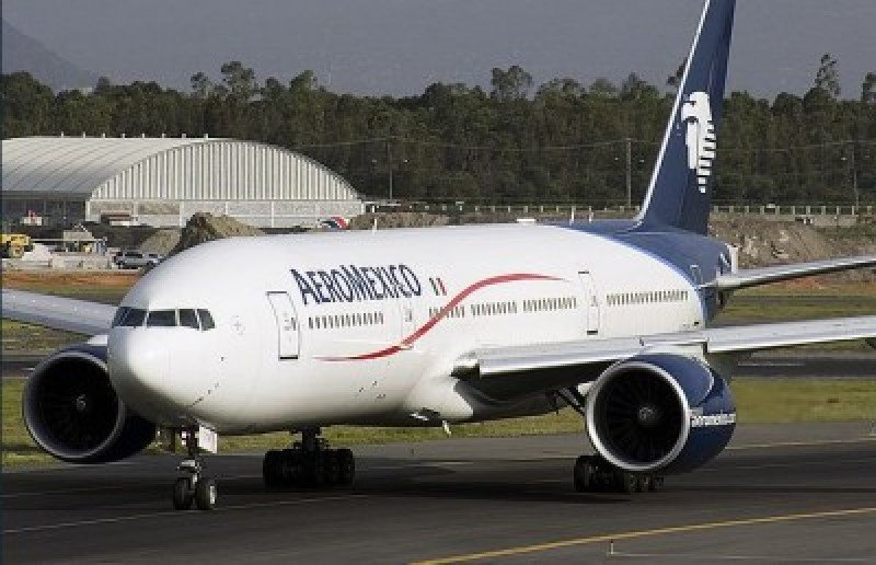 Pilotos de Aeroméxico demandan un 5% de aumento salarial