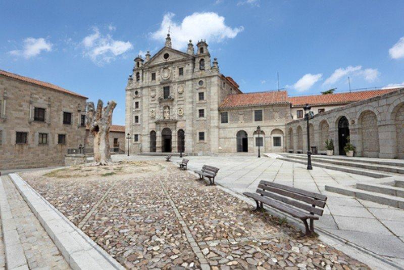 Convento de Santa Teresa en la ciudad de Ávila. #shu#