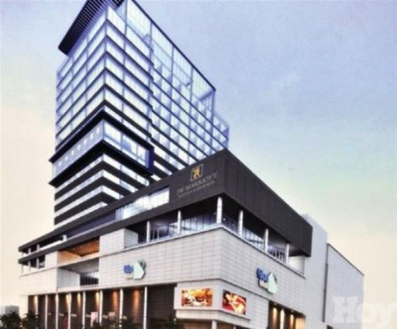 Recientemente inauguraron el hotel de lujo JW Marriot Blue Mall Santo Domingo.