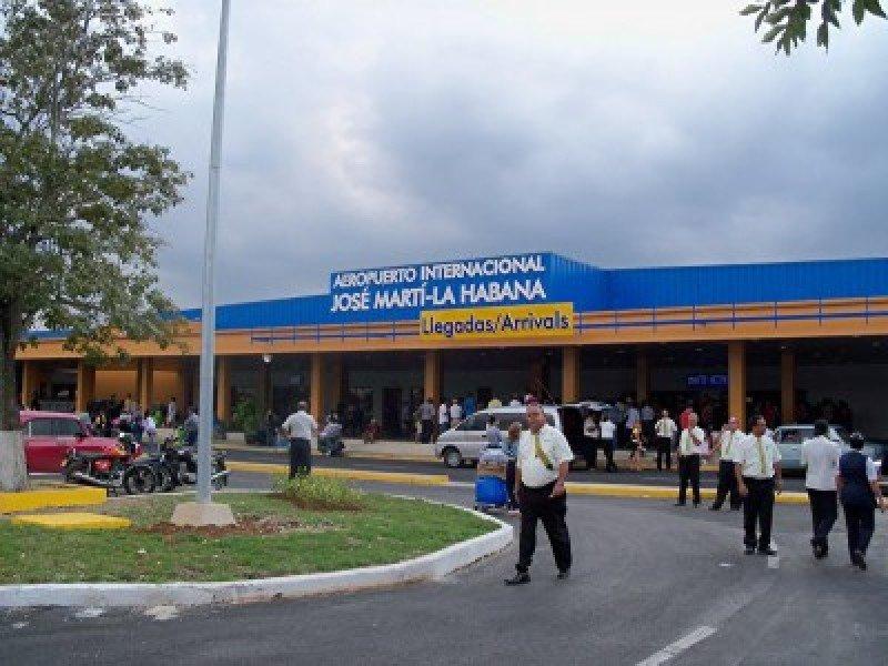 Aeropuerto José Martí de la Habana.