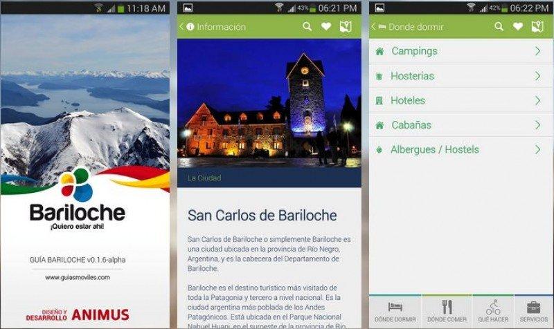 La aplicación está disponible en tres idiomas para Android e iOS.