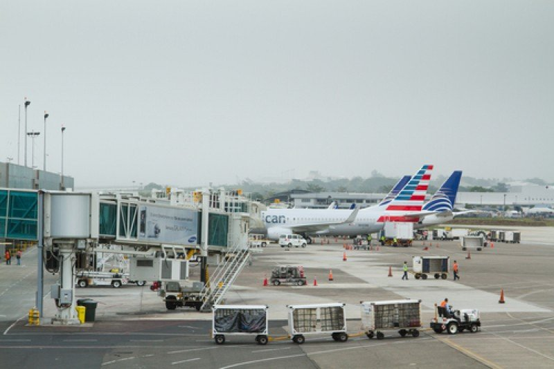 El aeropuerto Tocumen es uno de los principales activos del Estado panameño. #shu#
